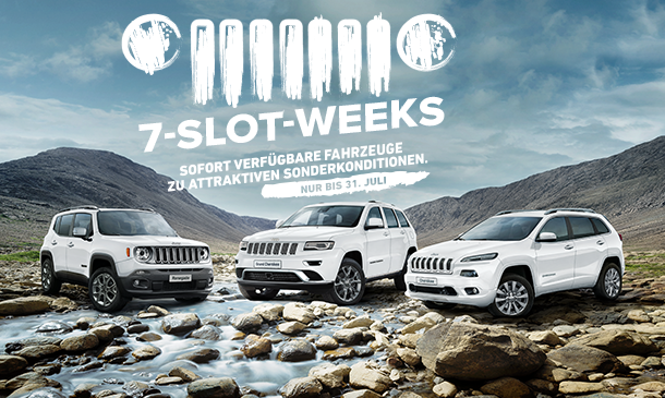Jeep -seven-slot-Angebot