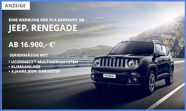 Jeep Renegade Angebot