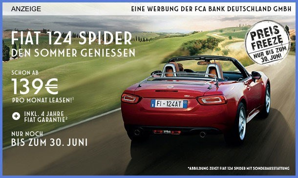 DER FIAT 124 SPIDER