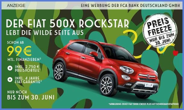 FIAT 500X ROCKSTAR