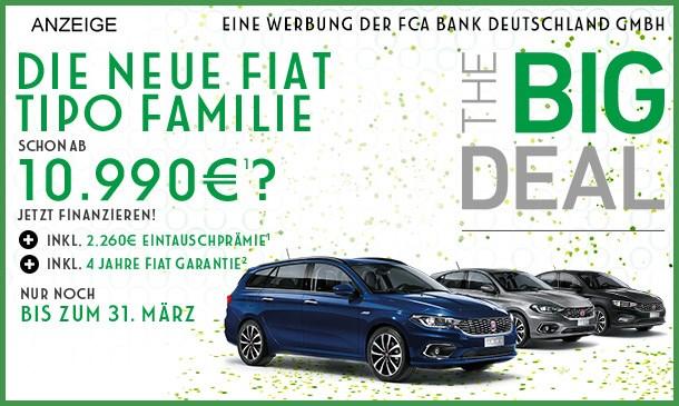 Fiat Tipo  Angebot