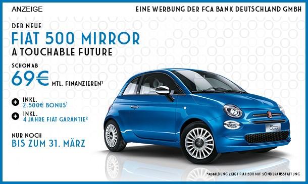 Fiat 500 Mirror Angebot