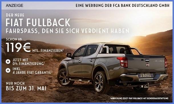 Fiat Fullback Angebot
