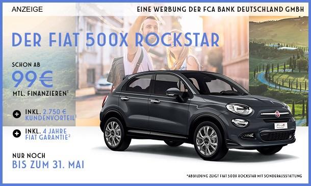 Fiat 500X Rockstar Angebot