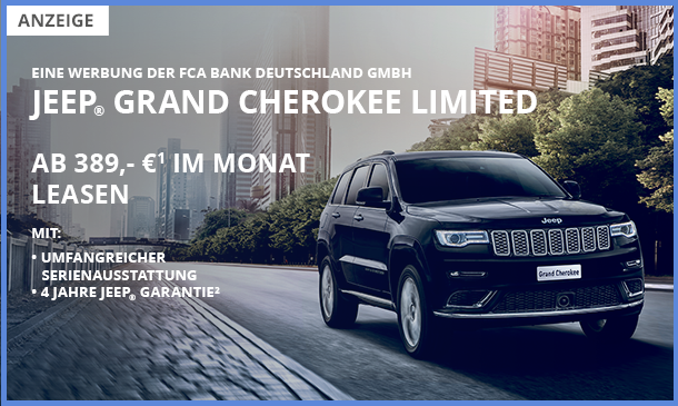 Jeep Grand Cherokee Angebot