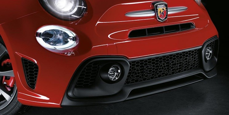 Abarth-595-Grille