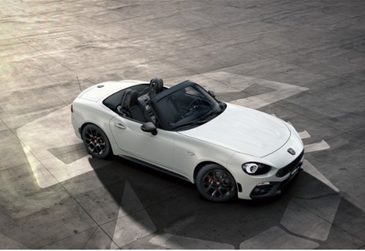 gamma abarth 124 spider dettagli torino spazio spa. Black Bedroom Furniture Sets. Home Design Ideas