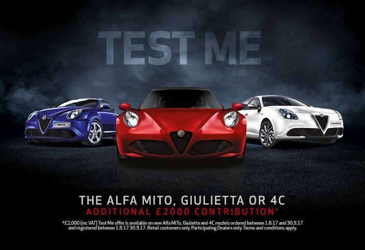 alfa romeo range test